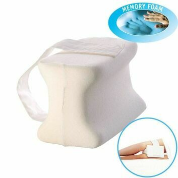 Orthopedic Memory Foam Knee Pillow with Adjustable Strap