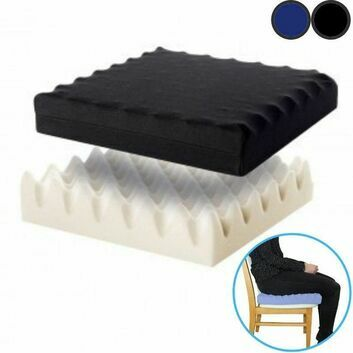 Pressure Relief Ripple Foam Cushion