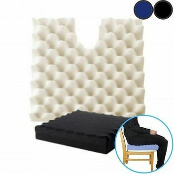 Sero Pressure Coccyx Cut Out Ripple Cushion