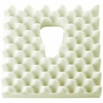 Prostate Relief Ripple Foam Discreet Cut Out Comfort Cushion