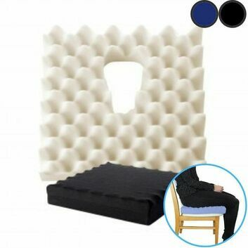 Sero Prostate Relief Ripple Foam Discreet Dr Huff Cut Out Comfort Cushion