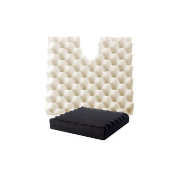 Pressure Coccyx Cut Out Ripple Cushion