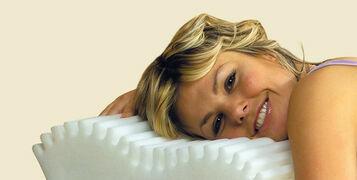 Wave-Memory-Foam-Pillow