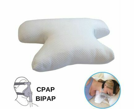 CPAP Sleep Apnoea Fibre Filled Pillow